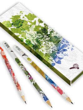 Bleistifte in Geschenkschachtel ›Shakespeares Gärten‹