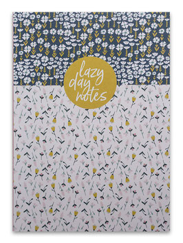 Notizbuch ›lazy day notes‹, Blumenwiese