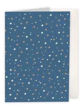 Sternenhimmel / blau