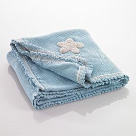 Babydecke blau