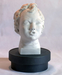 Sculpture l'Angelot Céramique Style Renaissance
