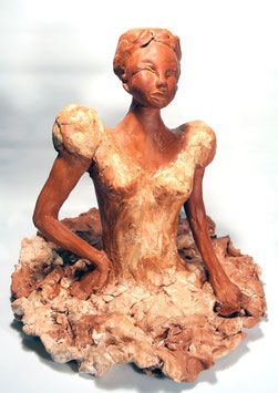 Danseuse de Ballet, Sculpture Céramique  Figurative