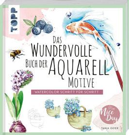 Das wundervolle Buch der Aquarell Motive