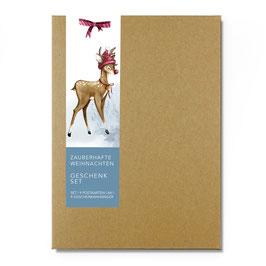 Postkarten Weihnachtsfest Set