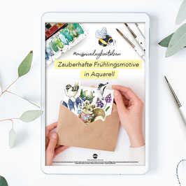 Missniceday-How to draw - Zauberhafte Frühlingsmotive in Aquarell - Guide