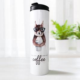Thermobecher – Coffee Eichhörnchen