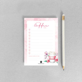 Sweet Aquarell – ToDo Block – A6
