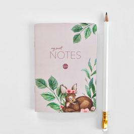 Notizheft A6 Bambi