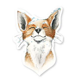 Sticker – Winter Fuchs