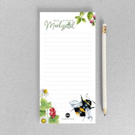 Wald - Einkaufsliste - Hummel