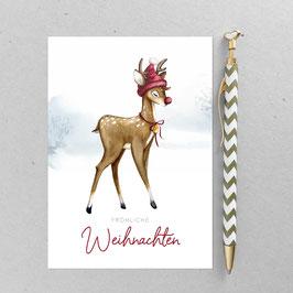 Bambi - Postkarte - Din A 6