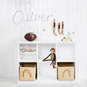 Oliver Furniture SEASIDE FLACHES REGAL MIT 6 FÄCHERN