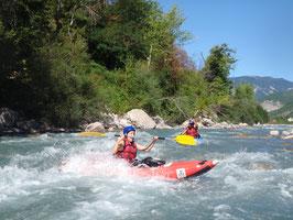 Canoe kayak pres de Nice