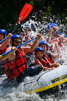 Le rafting, parfaite embarcation de sensations