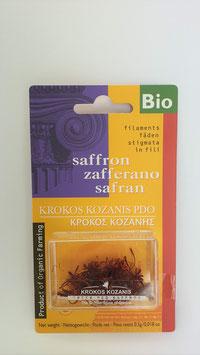 0,5g Bio Safran Fäden aus Griechenland