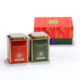 Dammann Frères - Coffret Happy holidays - 2 boîtes thés