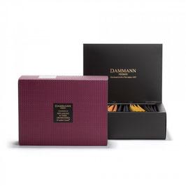 Dammann Frères - Coffret Grenat - 20 sachets mélanges aromatisés