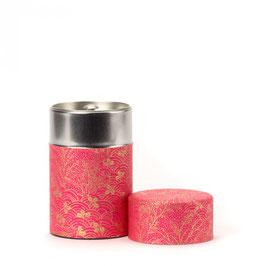 Dammann Frères - Boîte à thé washi rose 150 gr