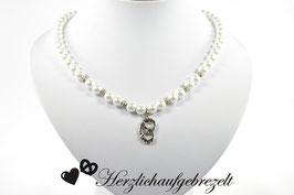 """Perlenkette """"Brezl"""""""