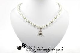"""Perlenkette """"Kleiner Hirsch"""""""