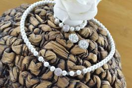 "Perlenkette ""Glitzerkugel"""