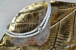 """Perlenkette """"Auf da Stanz"""" -zweireihig"""