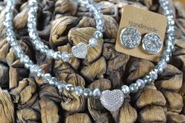 """Perlenkette """"Mein Herz"""""""