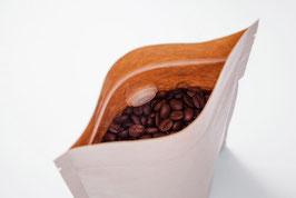 Kaffeebeutel öko mit Ventil und Zipper-Verschluss (10 Stück)