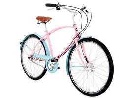 "Tube Rider 5-Gang pink Rahmenhöhe 19"""