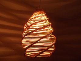 Flechtlampenschirm aus Weide (Nr.6)