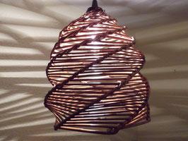 Großer Lampenschirm aus Naturweide (Nr. 2)
