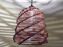 Großer Lampenschirm aus Naturweide  (Nr. 3)