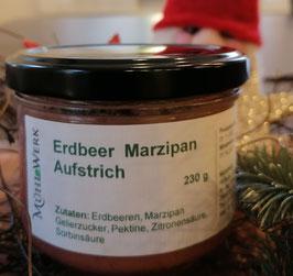 Erdbeeraufstrich mit Marzipan, 200g