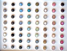Ohrstecker 8mm Edelstahl Polaris viele Farben