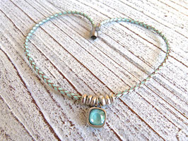 Lederkette Dreaming in Mint