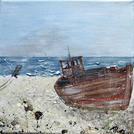 Boot am Strand 20 x 20 x 1,5