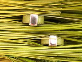 Lederring olivgrün
