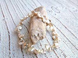 Keshi Perlen Armband