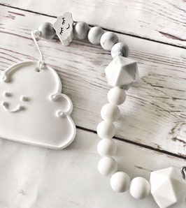 Attache sucette BABYCLOUD MARBRE