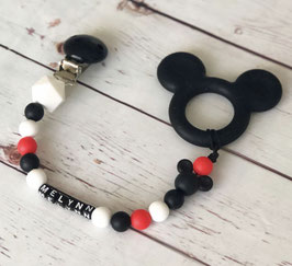 Attache sucette MICKEY