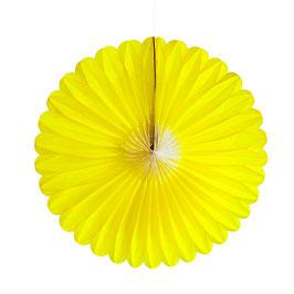 Papier-Blume gelb