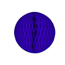 Wabenpapier-Kugel violett