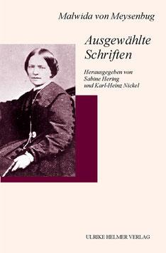 Malwida von Meysenbug: Ausgewählte Schriften