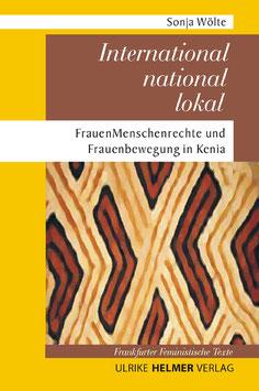 Sonja Wölte: International – national – lokal