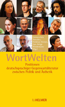 Immacolata  Amodeo, Heidrun Hörner, Jan-Helge Weidemann (Hg.): WortWelten