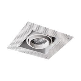 Inbouwspot Asta Trimless  1 of 2x GU10 Wit/Zwart (zonder lichtbron)