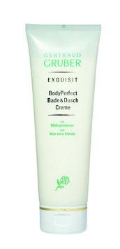 EXQUISIT BodyPerfect Bade & Duschcreme   -   Wohlgefühl für Haut und Sinne