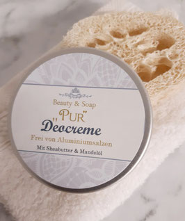 Deocreme Pur ohne Duftstoffe