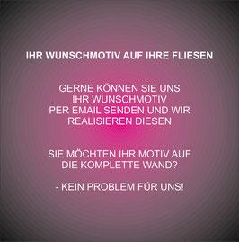 Dekorfliese #Wunschmotiv