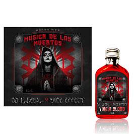 DJ ILLEGAL & SIDE EFFECT – VIRGIN BLOOD BUNDLE (CD & VIRGIN BLOOD BOTTLE)